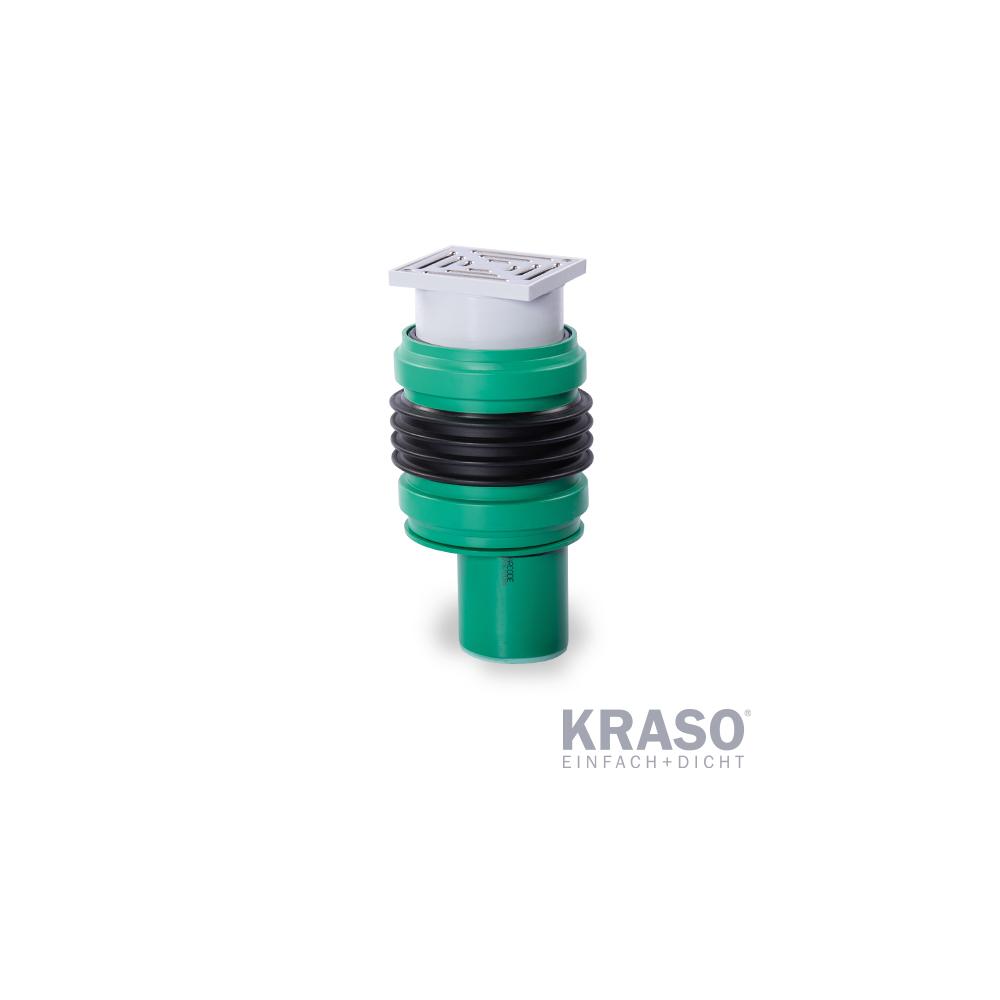 KRASO Bodenablauf Typ FS - RS - FrostSicher - RückstauSicher
