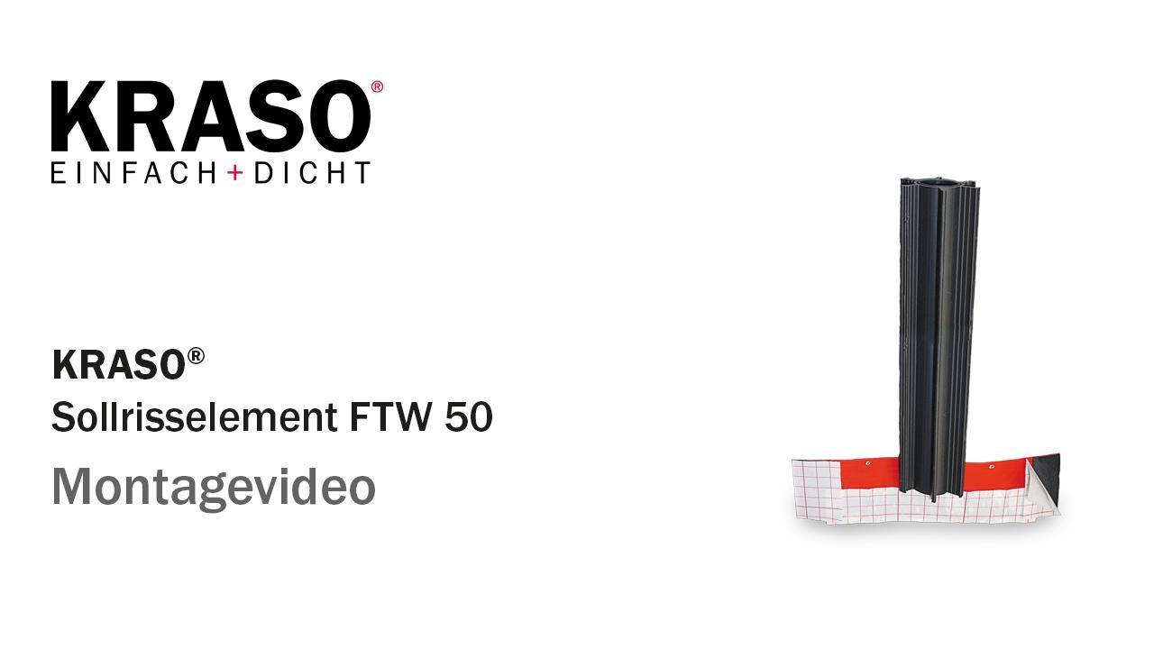 Montagevideo KRASO Sollrisselement FTW 50