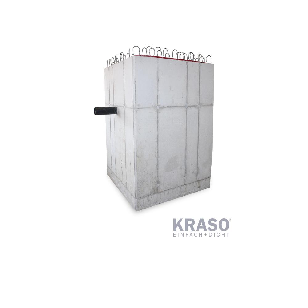 KRASO Pumpensumpf - Beton - 104 x 104 x 192 - Sonder