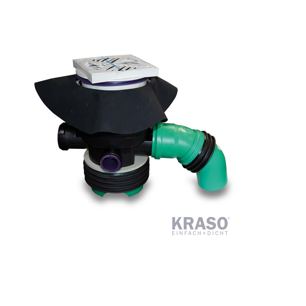 KRASO Kellerablauf - KG 2000