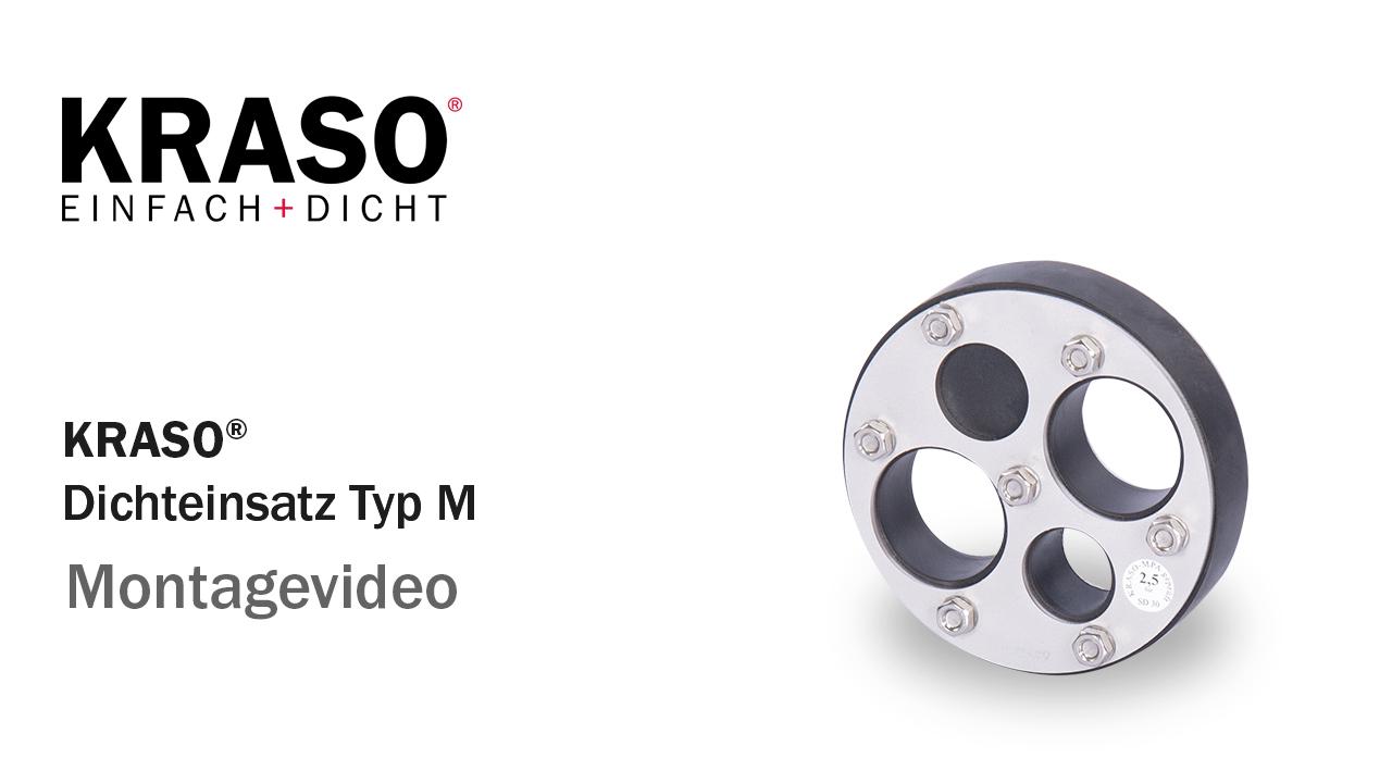 Montagevideo KRASO Dichteinsatz Typ M