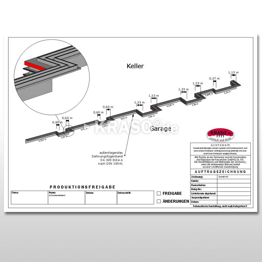 KRASO External Expansion Joint Tape - Special