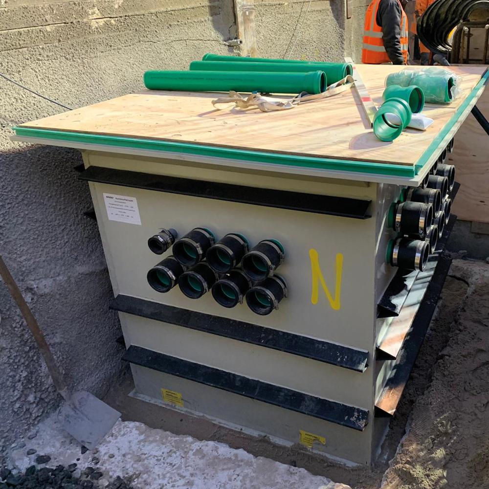 KRASO Pumpensumpf Typ Q - 145 x 170 x 135 - Sonder