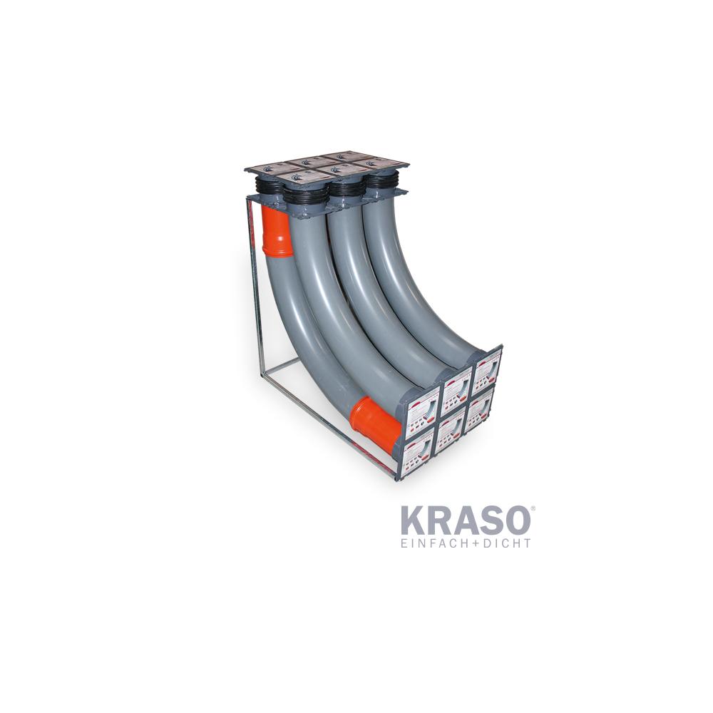 KRASO Gebäudeeinführung KDS 150 - 2x3