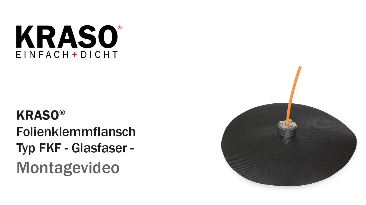 Montagevideo KRASO Folienklemmflansch Typ FKF - Glasfaser -