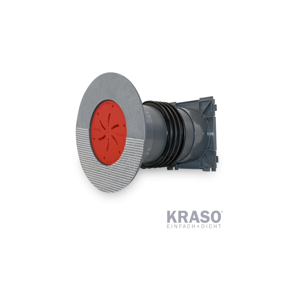 KRASO KDS 150 als Doppeldichtpackung mit Spachtelflansch