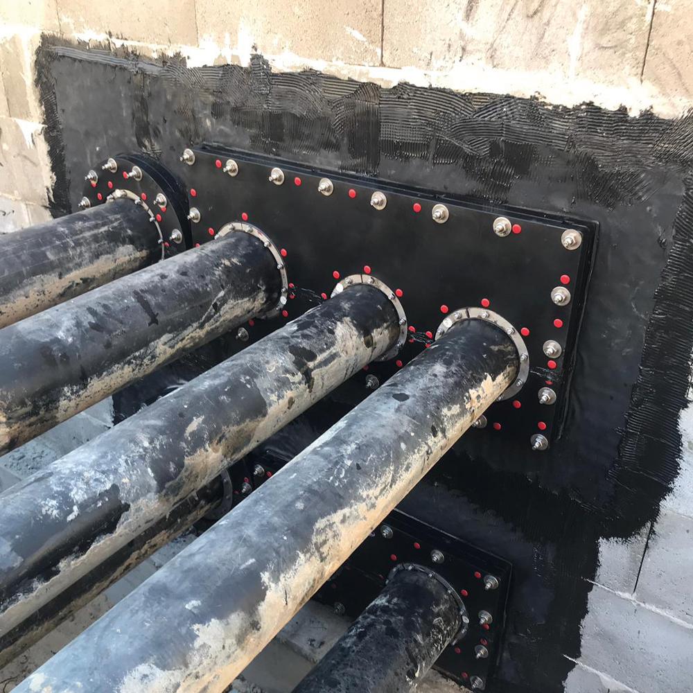 KRASO Kunststoffflanschplatte Typ KFP - mehrfach mit Folienflansch - Sonder