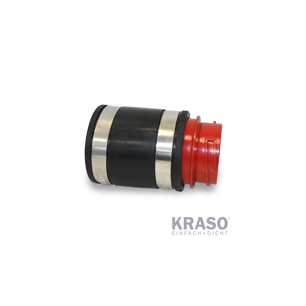 KRASO Systemdeckel 90 mit Schlauchadapter 90