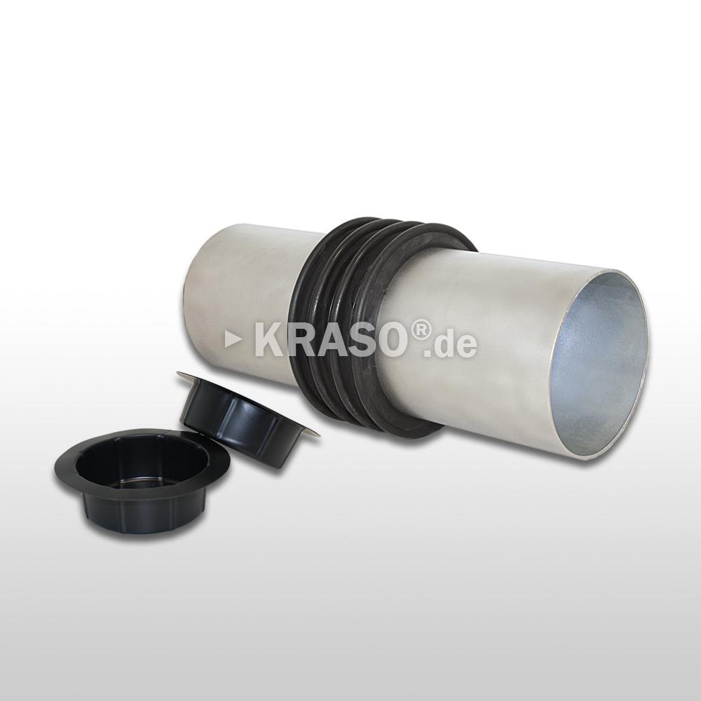 KRASO Casing Type E/FE - stainless steel / casing true diameter