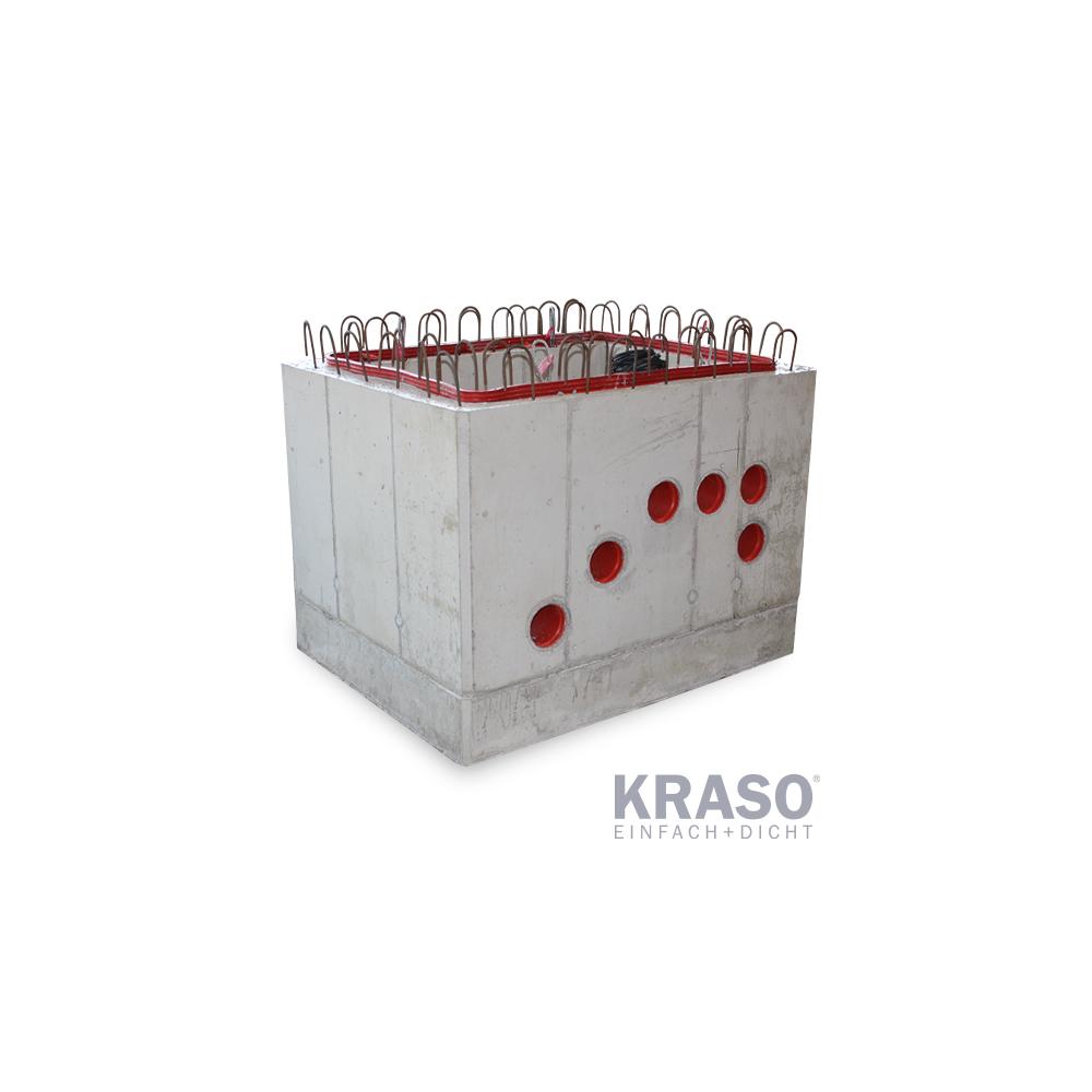KRASO Pumpensumpf - Beton- 100 x 70 x 80 cm - Sonder