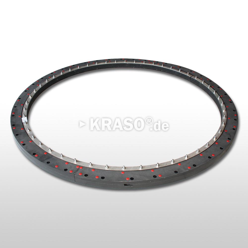 KRASO Plastic Flange Plate Type KFP - split - Special