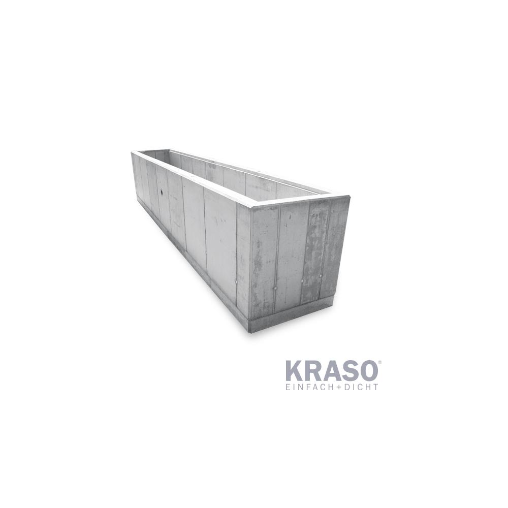 KRASO Pumpensumpf - Beton - 100 x 750 x 140 - Sonder