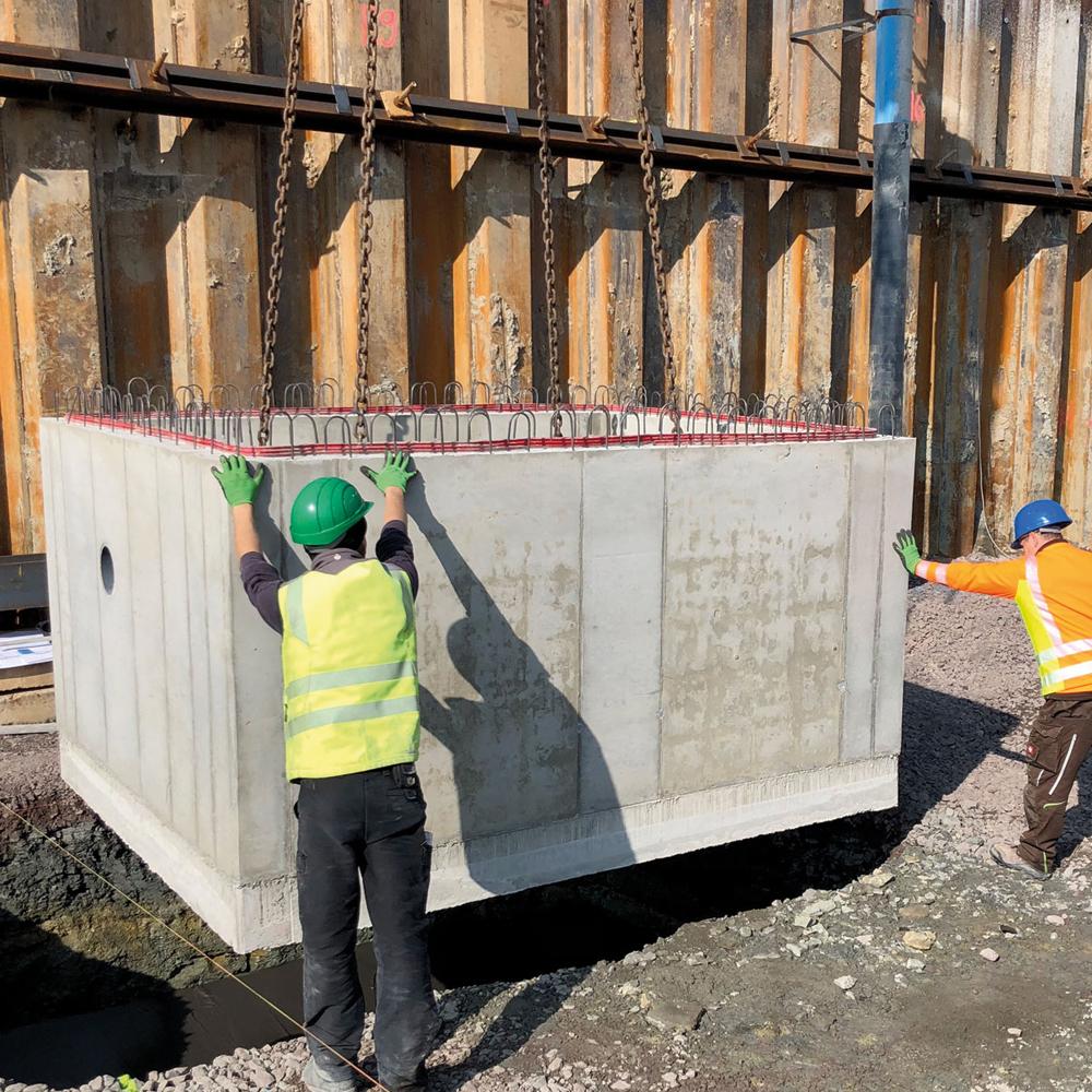 KRASO Pumpensumpf - Beton- 200 x 270 x 150 - Sonder