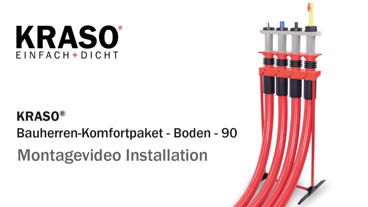 Montagevideo KRASO Bauherren-Komfortpaket - Installation