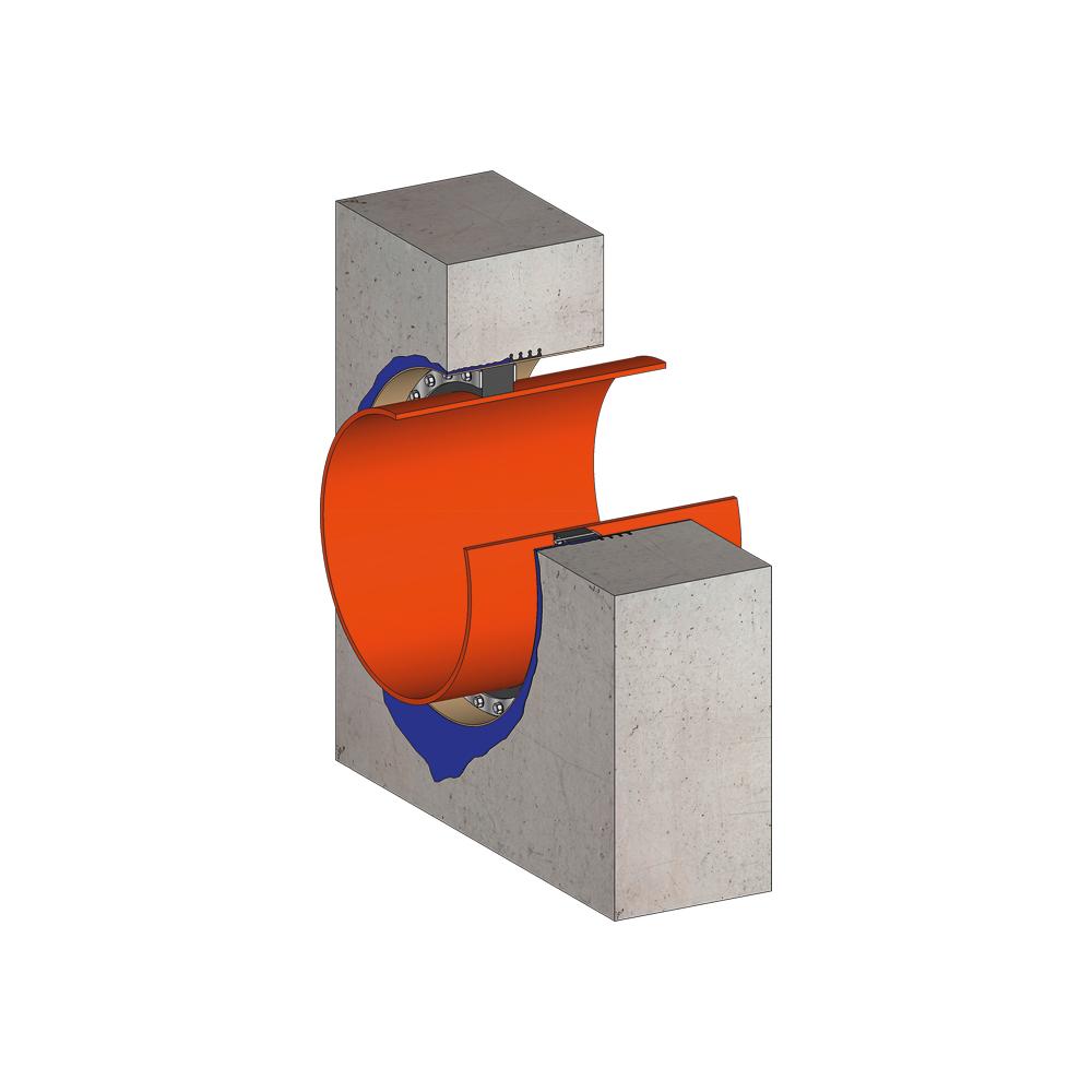 KRASO Futterrohr Typ FE/MI - Futterrohr Echtmaß Mit Innenkern