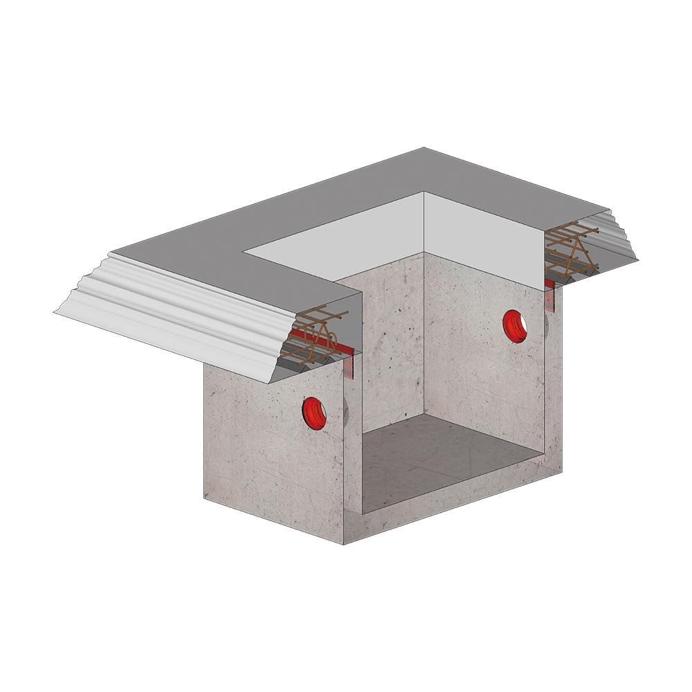 KRASO Pumpensumpf - Beton -