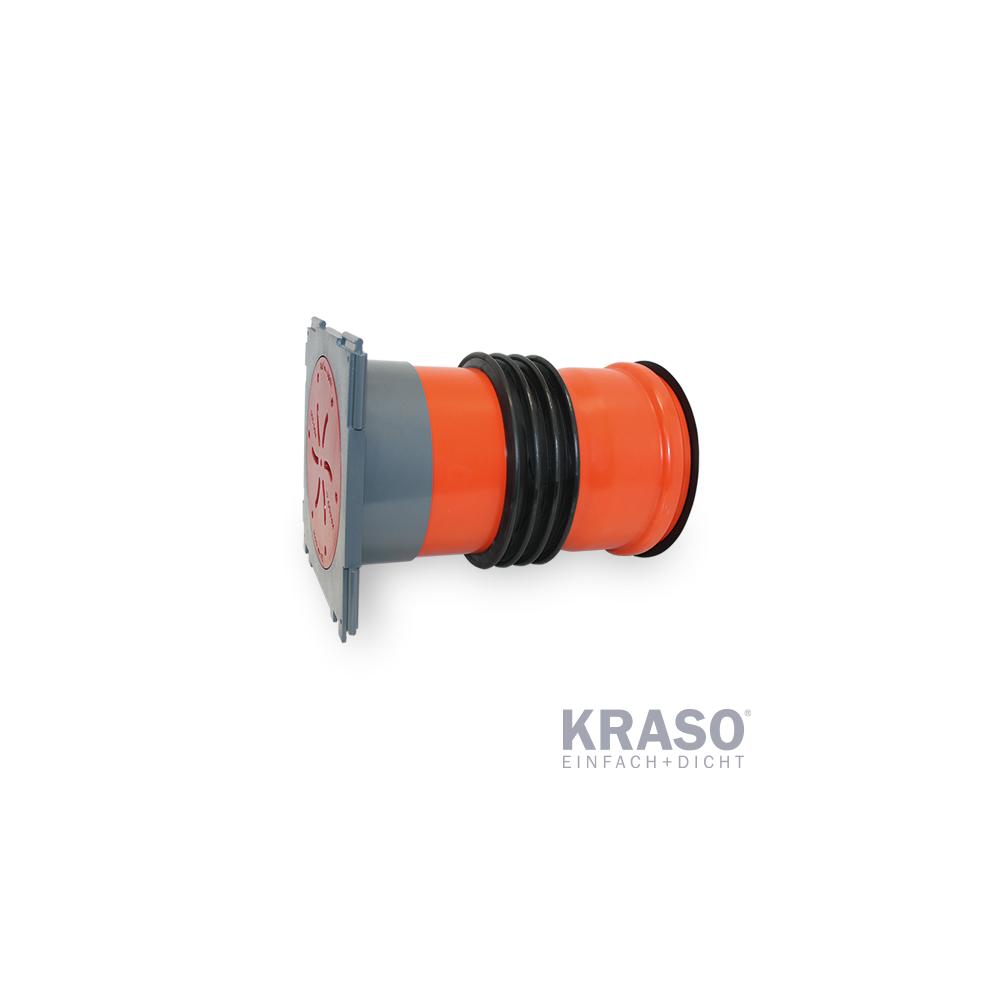 KRASO KDS 150 - Einfachdichtpackung mit Steckmuffe
