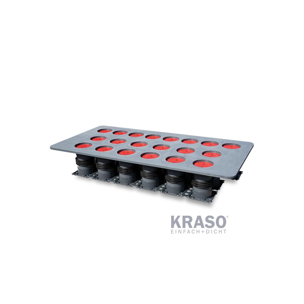 KRASO KDS Doppeldichtpackung mit Spachtelflansch