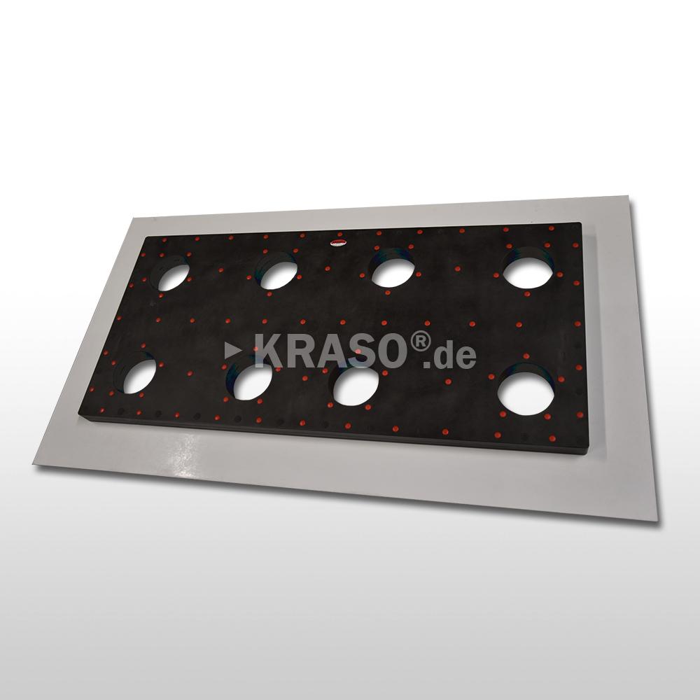 KRASO Plastic Flange Plate Type KFP - multiple - Special