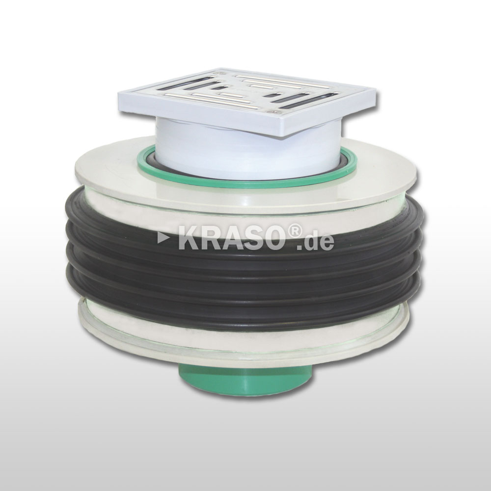 KRASO Floor Drain - thermally insulated