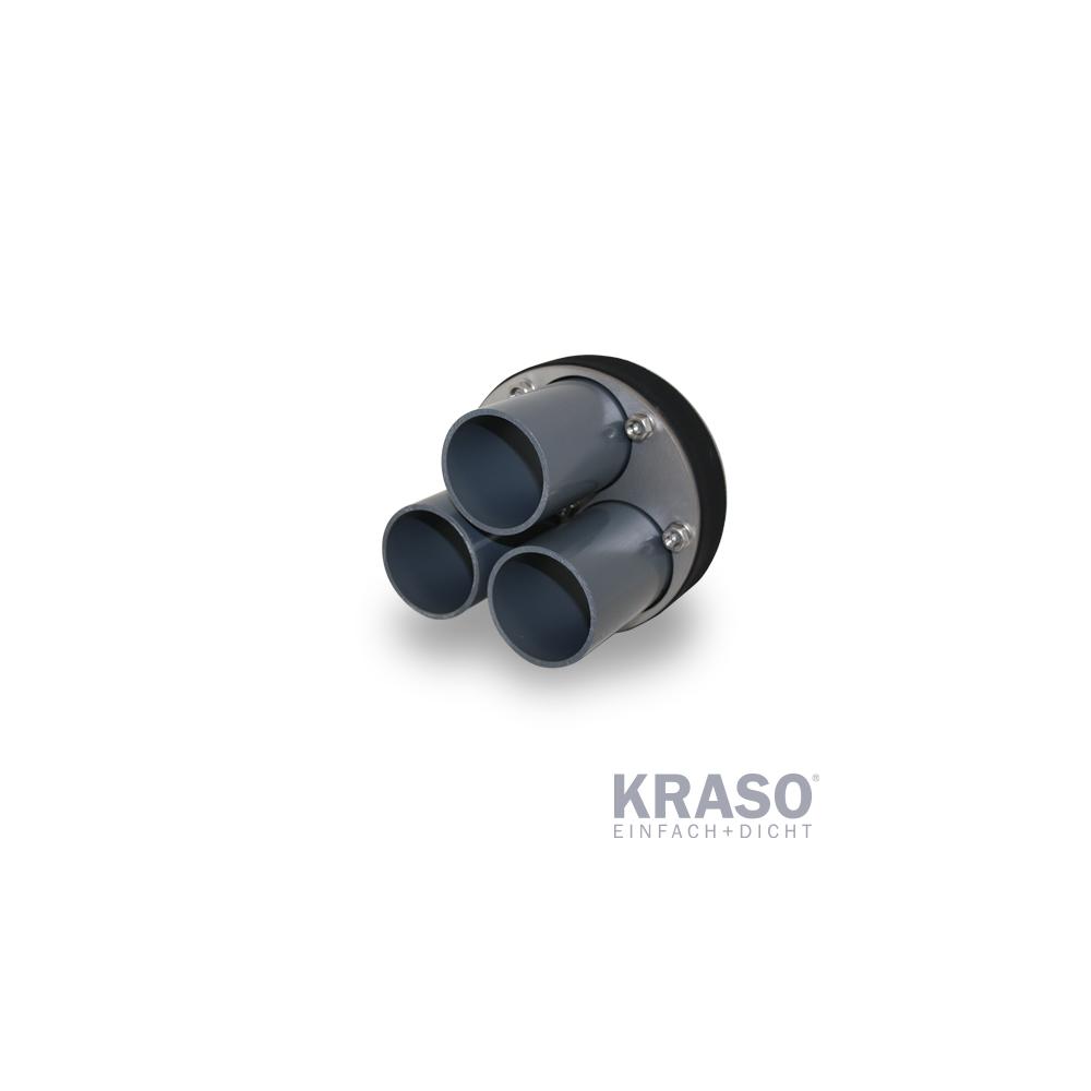 KRASO Systemdichteinsatz KDS 150 - Warmschrumpftechnik -