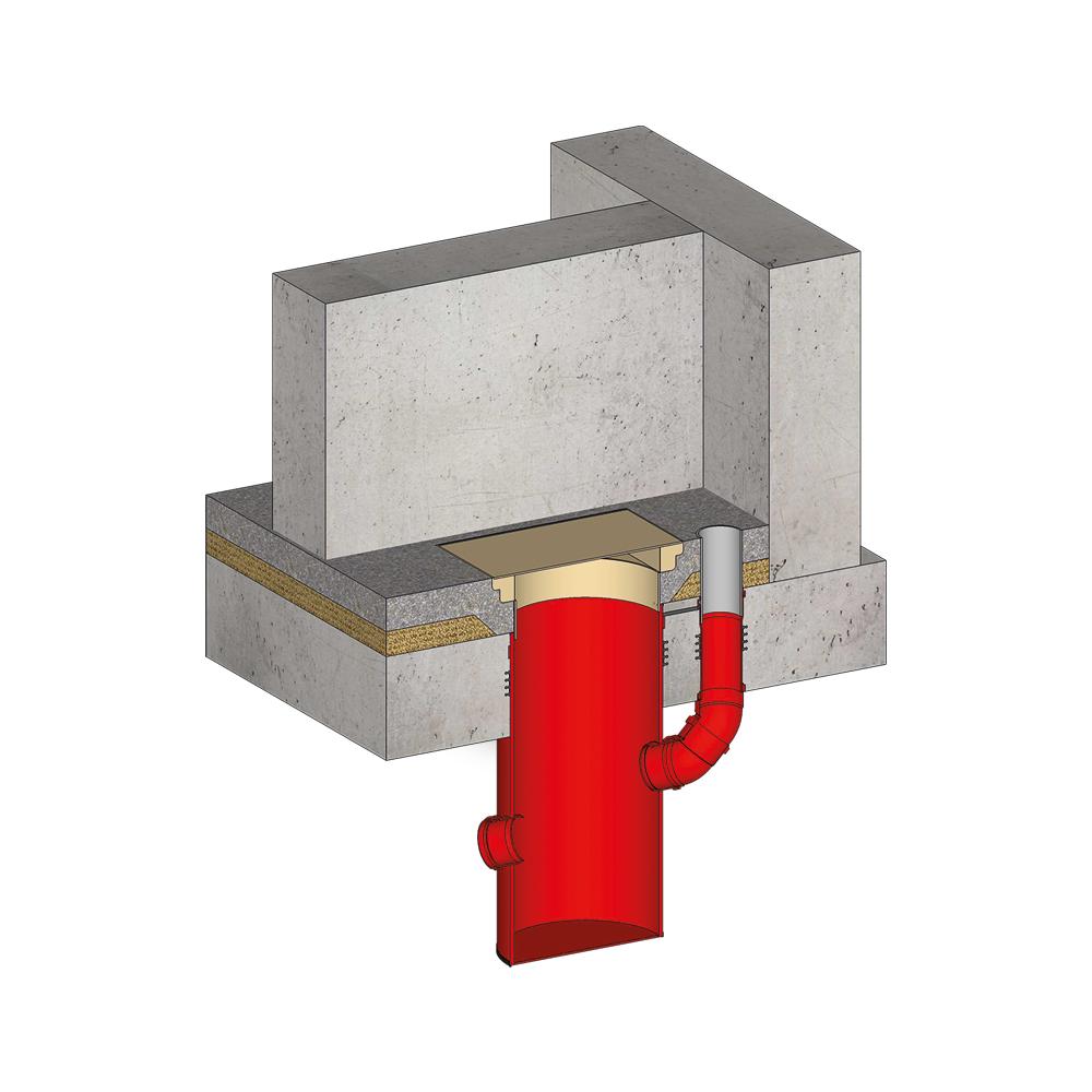KRASO Pumpensumpf Poly 400 - Komplett -