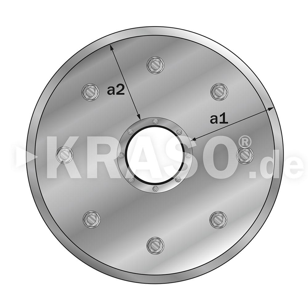 KRASO Sealing Insert Type FL - stainless steel