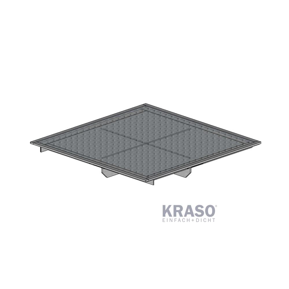 KRASO Pumpensumpf Abdeckung - befahrbar  bis 15 t, Raddruck bis 3,75 t