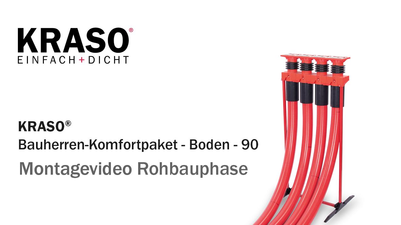 Montagevideo KRASO Bauherren-Komfortpaket - Rohbauphase