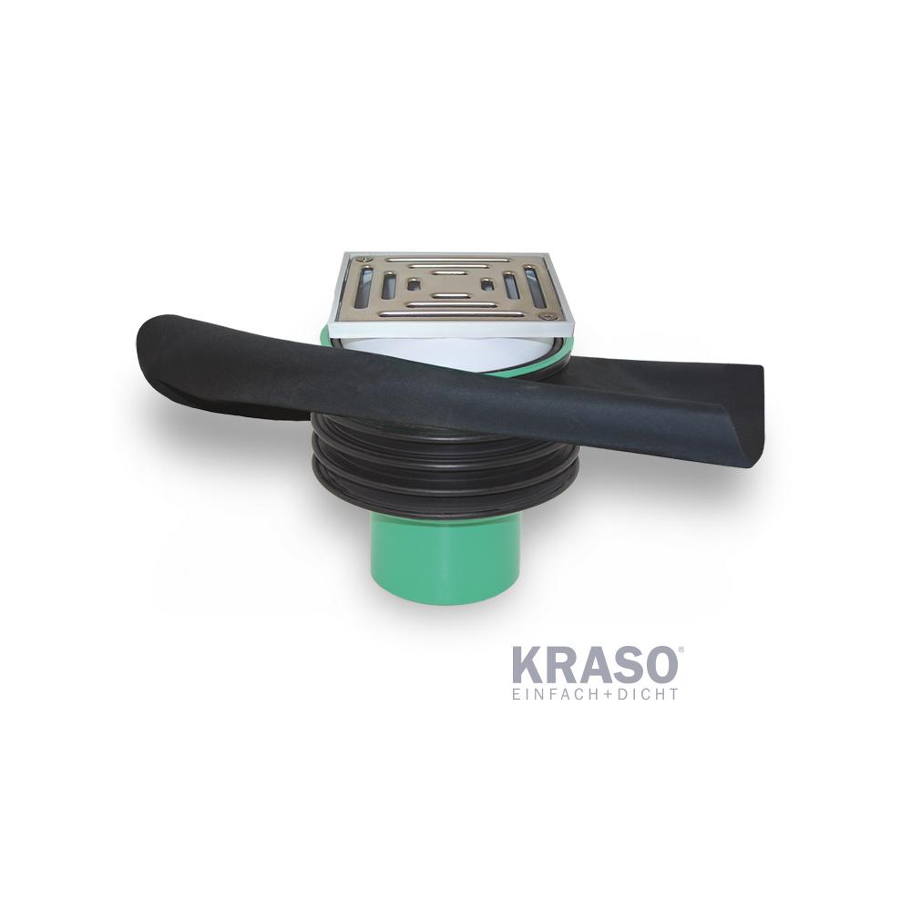 KRASO Bodenablauf Typ FS -  KG 2000 - FrostSicher